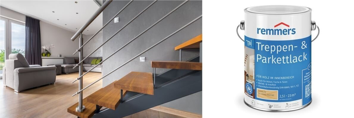 Treppen-& Parkettlack